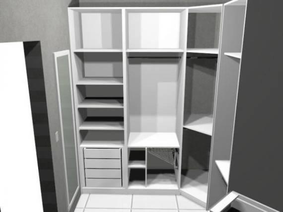 Modelos de closet 25 doce obra for Modelos de zapateras para closets