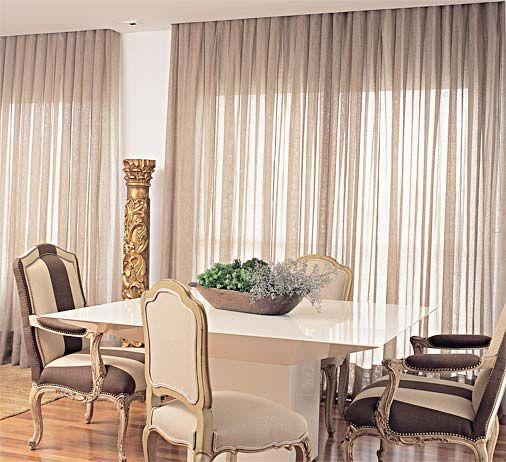Modelos de cortinas 75 dicas para escolher for Modelos de cortinas