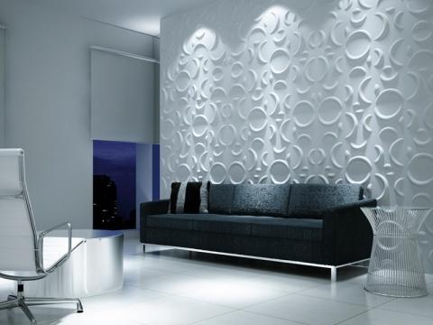 Revestimento 3d ciment cio tudo sobre - Placas decorativas paredes interiores ...