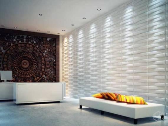 revestimento 3d ciment cio tudo sobre. Black Bedroom Furniture Sets. Home Design Ideas