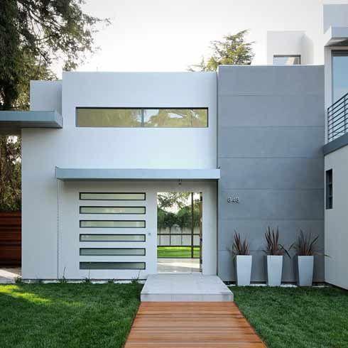 40 casas com telhado embutido dicas e fotos for Minimalist style home