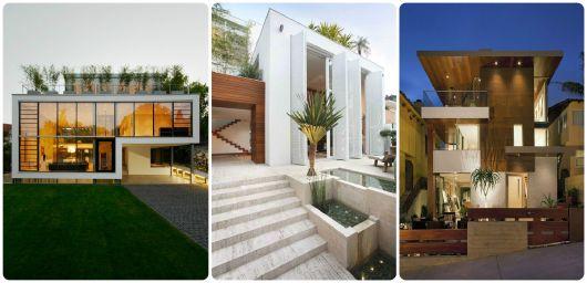 projetos modernos para casas condomínio