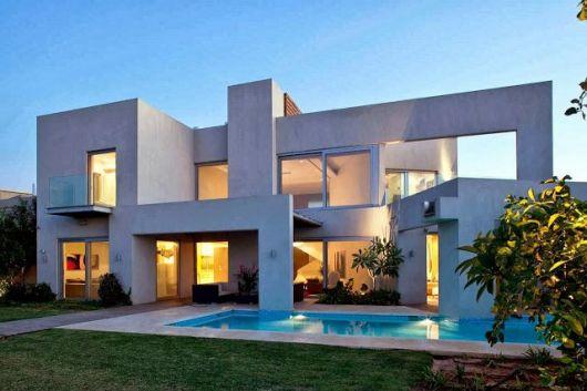 casa moderna linhas retas