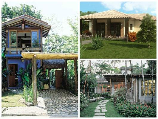 752fe3030f078 Casas Rústicas – 65 Inspirações e Projetos Absurdamente Lindos!