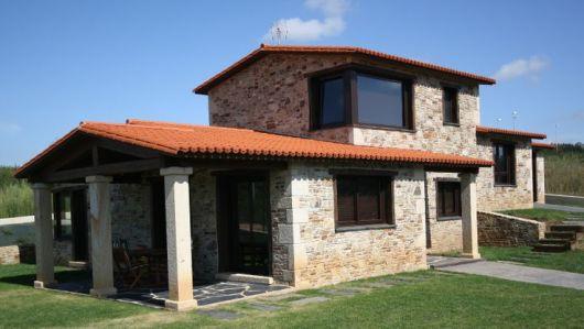 Casas r sticas 50 modelos e fotos imperd veis for Casa de una planta rustica