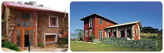 modelos de casas rústicas com pedras
