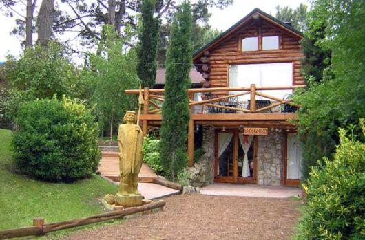 casa de rústica pequena