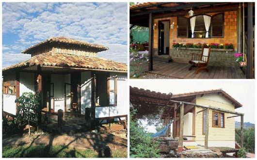 Casas r sticas 65 inspira es e projetos absurdamente for Casas rusticas pequenas