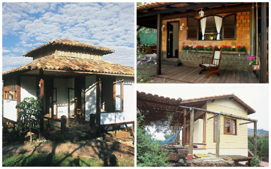 fachadas casas rústicas pequenas