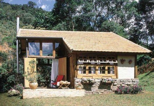 casa pequena de tijolo