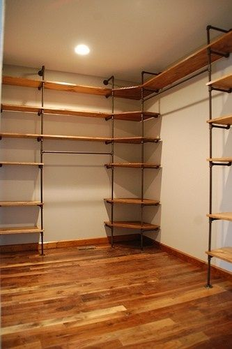 modelo closet para fazer em casa