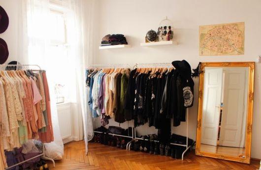closet com araras