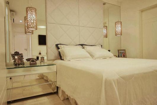 decoração clean quarto de casal