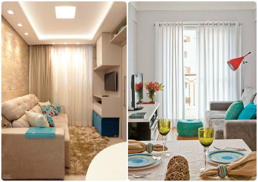 Decora o de apartamento pequeno 60 dicas for Modelos de apartamentos pequenos modernos