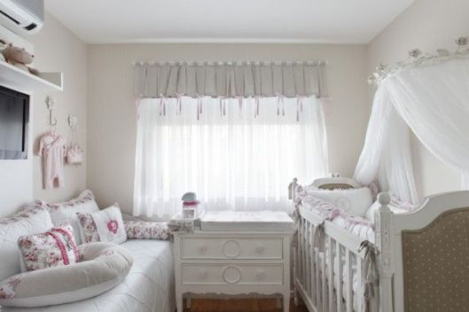 quarto bebê provençal