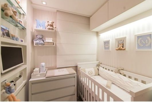 Decora o de apartamento pequeno 60 dicas for Modelo de departamento pequeno