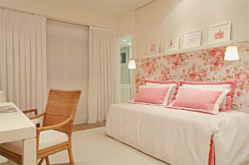 parede decorada quarto feminino