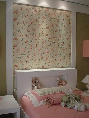 tecido parede quarto infantil