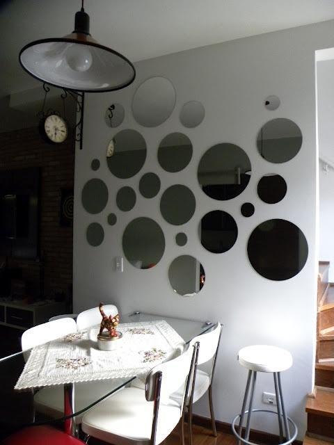 ESPELHO PARA SALA DE JANTAR 50 Fotos e Dicas -> Decoração De Sala De Jantar Com Espelho Redondo