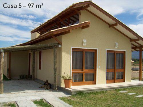 Fachadas de casas simples 50 dicas e fotos for Ideas para fachadas de casas pequenas