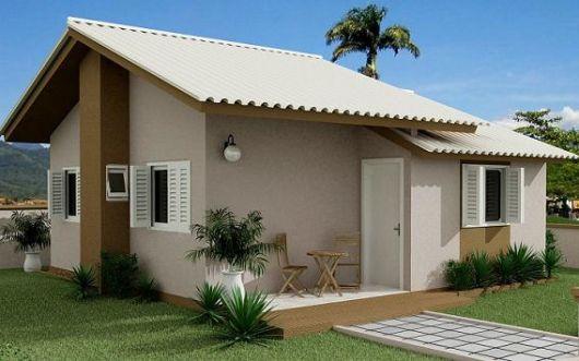 projeto para casa barata