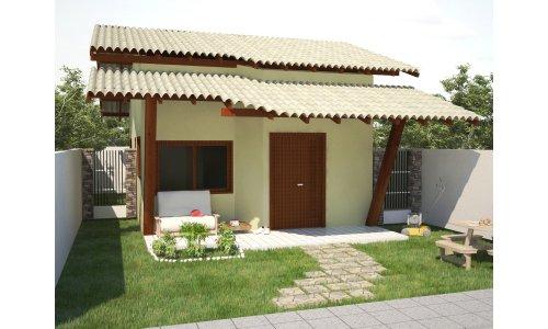 planta casa pequena e simples