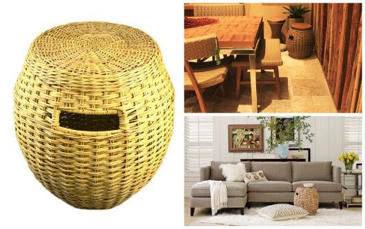 garden seat de fibra