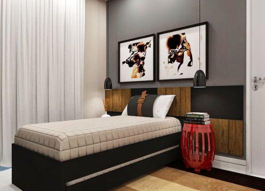 decoração quarto solteiro