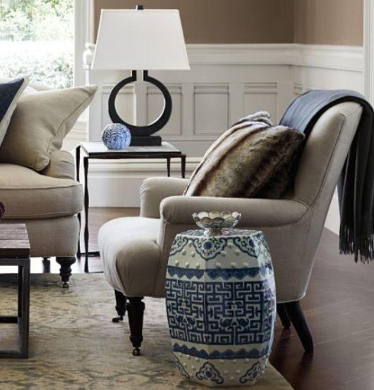 sala de estar com garden seat