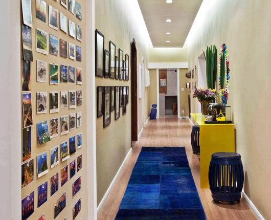 decoração corredor
