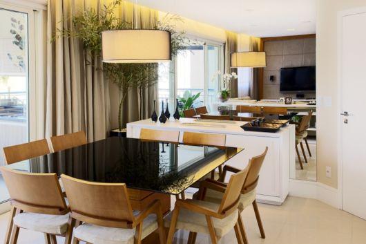 sala de jantar pequena