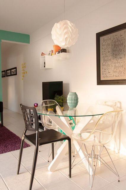 60 mesas de jantar modernas dicas e fotos - Mesas redondas modernas ...