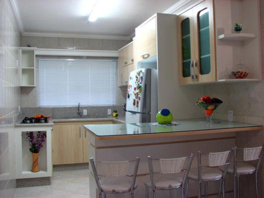 60 MODELOS DE COZINHAS Projetos e Fotos! # Mini Cozinha Simples