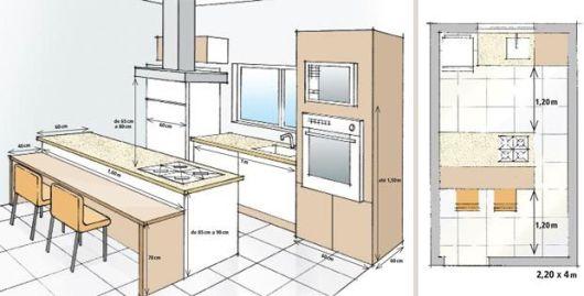 Cozinha Ilha Planta - 60 MODELOS DE COZINHAS Projetos e Fotos!