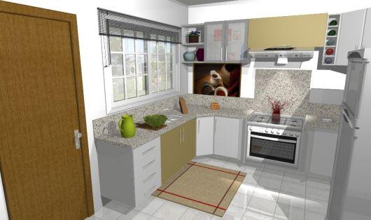 modelo de cozinha simples