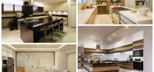 modelos de cozinhas com ilha