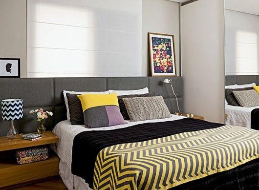 quarto decorado moderno