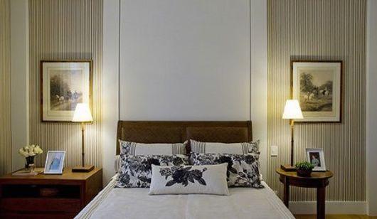 decoração clássica quarto