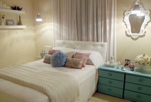 quarto feminino decorado
