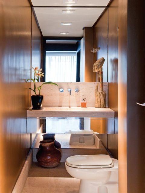 40 modelos de lavabos do simples ao sofisticado - Lavabos de pared ...