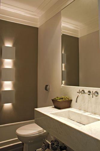 40 modelos de lavabos do simples ao sofisticado Banos pequenos pintados