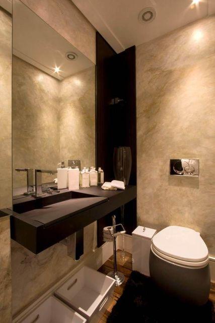 dica lavabo pequeno e moderno