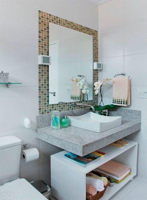 lavabo simples com pastilha