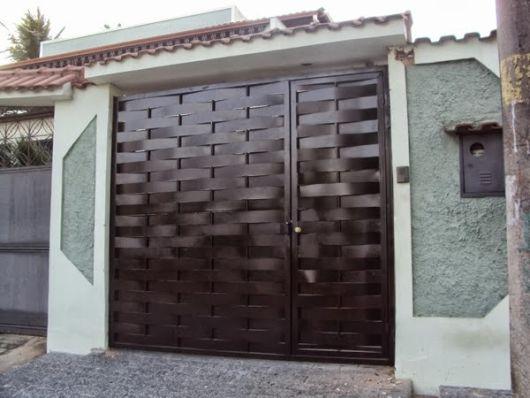 portão entrelaçado