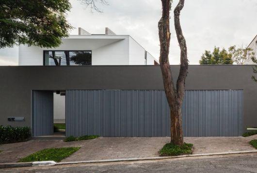 fachada casa contemporâena