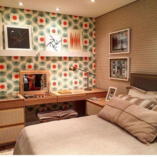 parede vintage quarto