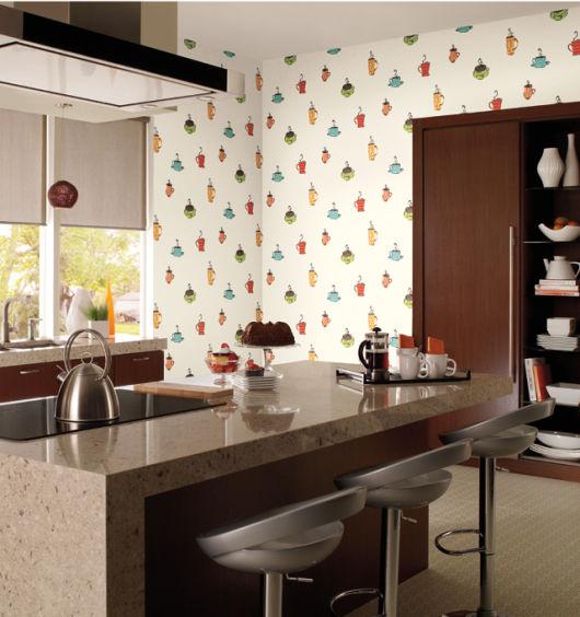 decoração de cozinha com ilha