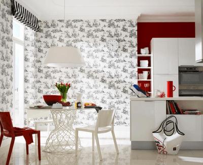 decoração de cozinha clara