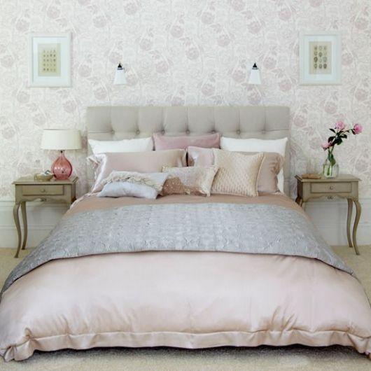 Papel de parede para quarto de casal 50 estilos for Papel habitacion matrimonio