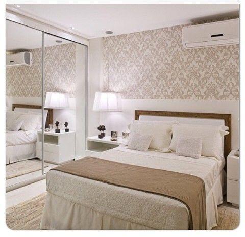 Papel de parede para quarto de casal 50 estilos for Papel pared moderno